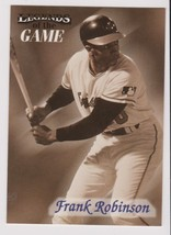 1998 Fleer / SI Legends Frank Robinson card, Baltimore Orioles HOF - $0.99