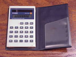 Older Small Casio Solar Cell Electronic Calculator, no. SL-300 - $6.95