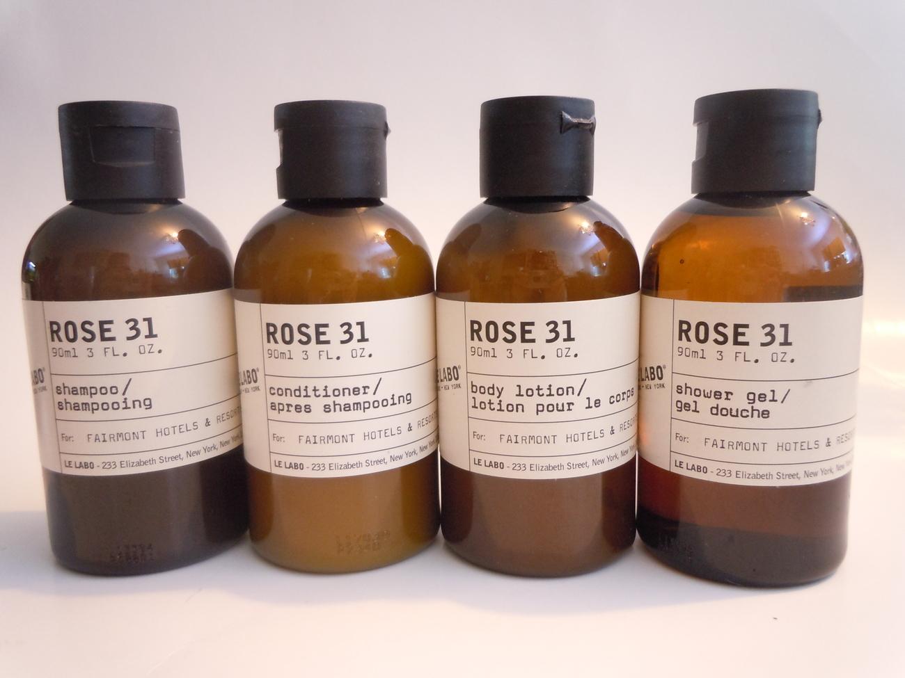 Le Labo Rose 31 Shampoo Conditioner Shower Gel Body Lotion