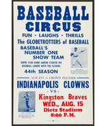 INDIANAPOLIS CLOWNS KINGSTON BRAVES 8X10 PHOTO BASEBALL POSTER PICTURE N... - $4.94