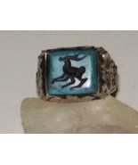 ANTIQUE RARE RING 1 MARID QUEEN DJINN JINN GENI... - $1,548.33