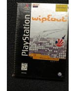 WipEout (Sony PlayStation 1, 1996) original cover longbox COMPLETE case ... - $13.29