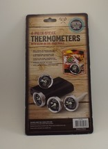 Grilling Traditions 4 Piece Steak Thermometers/ with Glow in the Dark Dials - $6.92