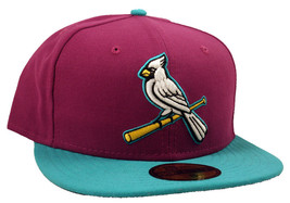 St. Louis Cardinals New Era Custom Flying V 5950 Fitted Cap - ₹2,550.15 INR