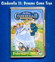 Disney Cinderella and Prince Cinderella II pin/pins