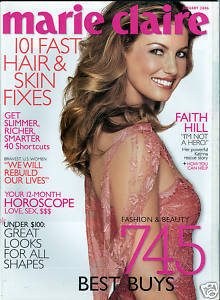 "MARIE CLAIRE January 2006-Faith Hill –""I'm"