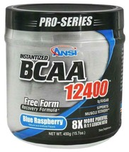 ANSI BCAA's 12400 Blue Raspberry Original Formula  - $24.49