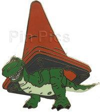 DISNEY Toy Story 2 Rex with Cone pin/pins