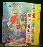 Little Mermaid ARIEL'S TREASURE HUNT Golden Play Lights