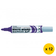 Pentel MAXIFLO MWL5M Whiteboard Marker (Medium Bullet Point) (12pcs) - V... - $28.99