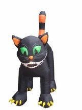 11 FOOT Party Halloween Inflatable Huge Black Cat Yard Decoration Prop B... - €96,88 EUR