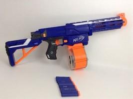 Hasbro Nerf N-Strike Retaliator Gun w/ Darts Drum-Magazine & Extended Ba... - $39.55