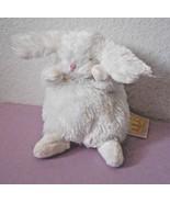 Bunnies by the Bay White Rabbit Ittybit Plush Stuffed Animal Ball Round ... - $11.37