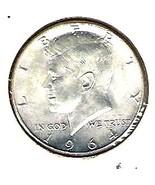 Nice Uncirculated 1964 Kennedy Half from a B.U. Roll - $20.00