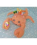 Shelby The Crab pincushion kit NEW (shelby) handmade JABC Just Another B... - $43.20