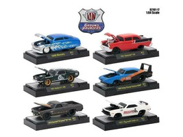 Ground Pounders 6 Cars Set Release 17 IN DISPLAY CASES 1/64 Diecast Model Cars b - $47.98
