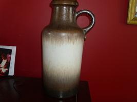 Huge W. German Lava Vase/ Scheurich - $39.00