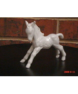 WALLENDORF 1764 WHITE STANDING FOAL - $40.00