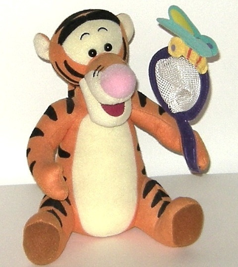 1/2 Price! Disney Tigger Pooh Tiger Plush Butterfly and Net