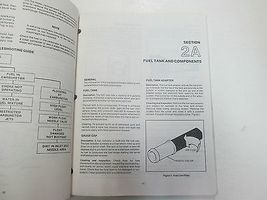 1984 1985 1986 Force Outboards 35 HP Outboard Motors Service Manual STAIN WORN** image 8