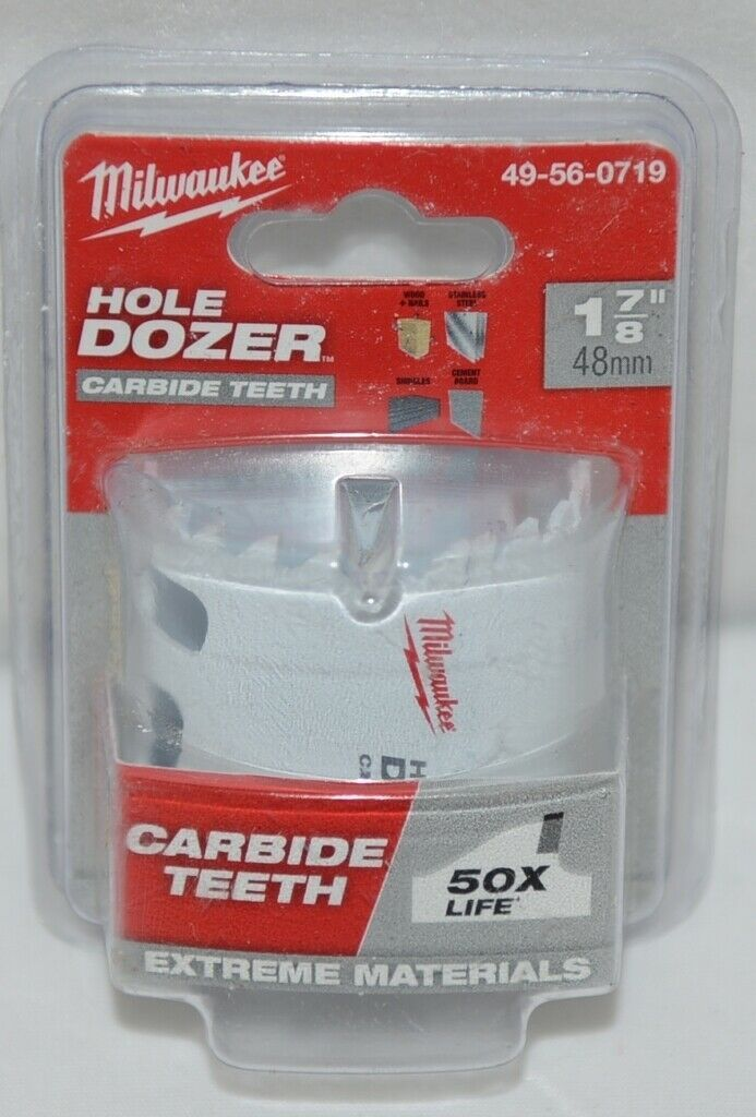 Milwaukee Product Number 49560719 Hole Dozer Carbide Teeth
