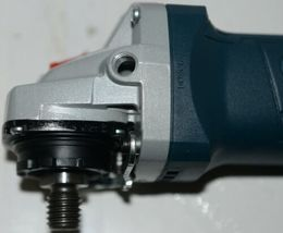 BOSCH GWS10 45PE Angle Grinder with Lock On Paddle Switch CORDED Package 1 image 6