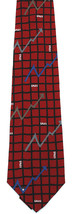 Smooth Sale-ing Men's Necktie Vicky Davis Sales Business Silk Gift Red N... - $19.75