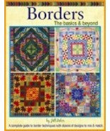 BORDERS - THE BASICS & BEYOND by Jill Reber -  Quilt Book NEW! - $12.99