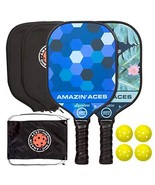 Amazin' Aces Signature Pickleball Paddle | USAPA Approved | Graphite Face & - $128.80