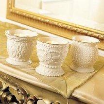 Lenox Ivory Fine China Classic Beaded Votive / Tea Light Candle Holder - $45.00