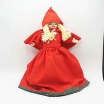 Vintage interchangeable hand puppet red riding hood big bad wolf grandma - $69.73
