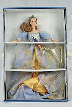 Mattel Harpist Angel Barbie Doll 1st In A Series Angels of Music Collect... - $40.58