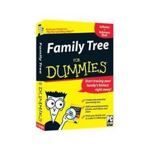 NEW Family Tree for Dummies CD-ROM Learning Software - $14.99
