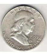Nice 1953D Franklin Half #2 - $20.00