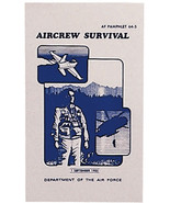Air Force Survival Manual AF Pamphlet Aircrew Illustrated Book Guide - $13.99
