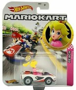 Hot Wheels Mariokart diecast PEACH P-Wing NEW - $8.56