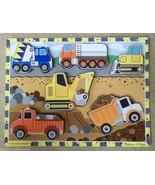 Melissa & Doug 3726 Chunky Puzzle Construction - $12.01