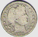 Nice better date 1913D Barber Quarter
