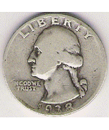 Nice Better Date 1938P Quarter - $9.95