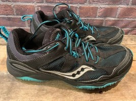 SAUCONY Adapt Train Running Women's Shoe  Size 9.5 Black Blue 15148-1 - $24.74