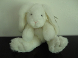 Russ Berrie Bunny Rabbit Marshmallow White Plush Nr 4223 All Tags - $67.54
