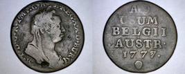 1777 Austrian Netherlands  1 Liard World Coin - $24.99