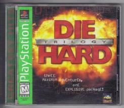 Die Hard Trilogy Sony PlayStation 1996 Free Shi... - $14.84