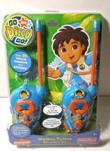 Fisher Price Go Diego Go! Walkie Talkie Adventure Set of 2 Toy L6963  New  - $28.68