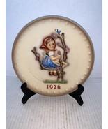 "MJ Hummel Goebel Annual Plate ""Apple Tree Girl"" Hum 269 in Bas Relief 1976 - $15.00"