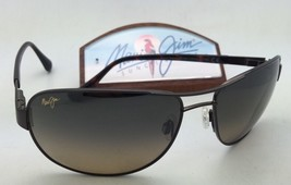 Polarized MAUI JIM Sunglasses SAND ISLAND MJ 253-25A Dark Brown w/ HCL B... - $339.95