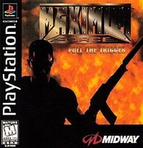 Maximum Force PlayStation, 1997 Free Ship USA & Canada - $19.99