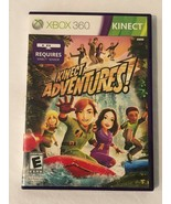 Xbox 360 Kinect Adventures Video Game Instructions Sensor Card Case Tested - $4.99
