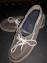 Sperry Top-Sider Men's 2 Eye Brown Leather Shoes Size 8 M - $17.33