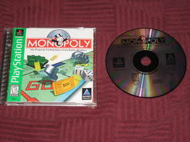 Monopoly  (Sony PlayStation, 1998) Free Ship US... - $9.89